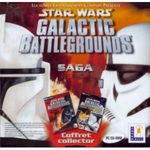 Star Wars : Galactic Battlegrounds Collector - Le jeu + l'extension Clone Campaigns [PC]