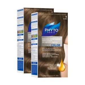 Phyto Paris Phytocolor 7 Blond - Coloration soin permanente haute brillance