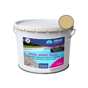 Piscine center o'clair Peinture piscine pool paint plus sable 2,5 l