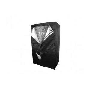Image de Blackbox Silver Chambre de culture Dual 150 x 80 x 200 cm - Black Silver