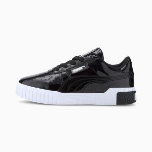 Puma Chaussure Basket Cali Patent Kids pour fille, Noir, Taille 28, Chaussures