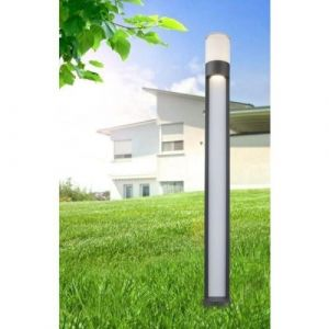 Globo Lighting Colonne haute extérieure aluminium fonte gris