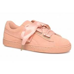 Puma Chaussures WN SUEDE HEART SATIN.DUSTY