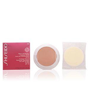 Shiseido B60 Deep Beige - Compact naturel perfecteur (recharge) SPF 15