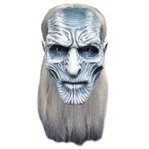 Mahal797 - Masque Latex adulte Blanc Walker - Game Of Thrones -