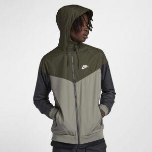 Nike Veste Sportswear Windrunner pour Homme - Vert - Couleur Vert - Taille XL