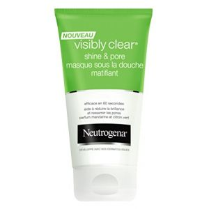 Neutrogena Visibly Clear - Masque sous la douche matifiant