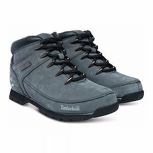 Timberland Euro Sprint Hiker, Bottes Chukka Homme, Gris (Grey Reflective 065), 45 EU