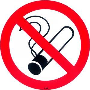Toolstation Picto Vinyle PICKUP Diam 15cm Interdit De Fumer