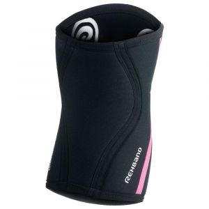 Rehband Protecteurs articulations Rx Knee Sleeve 7 Mm - Black / Pink - Taille L