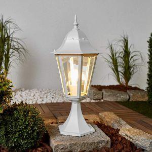 Lutec Borne lumineuse blanche Blanc, 1 lumière - Moderne/Design - Extérieur - 1334L - Délai de livraison moyen: 2 à 4 jours ouvrés. Port gratuit France métropolitaine et Belgique dès 100 ?.
