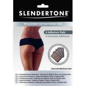 Slendertone 0517-2050 - 4 électrodes adhésives de rechange pour fessier