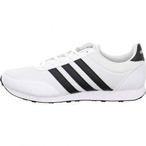Adidas V Racer 2.0 Homme, Blanc (Ftwbla Negbás 000), 46 EU