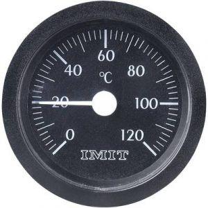 Sonstige Thermomètre à capillaire à encastrer 0 Jusqu'à +120 °C Ø 52 mm