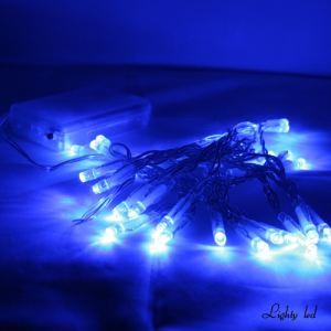 Lighty led Guirlande 30 LED sur piles
