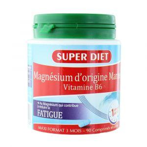 Super Diet Magnésium marin + vitamine B6 (90 comprimés)