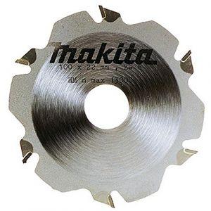 Makita Lame carbure diamètre 100 mm pour lamelleuse alésage 22 mm 6 dents(793382-4)