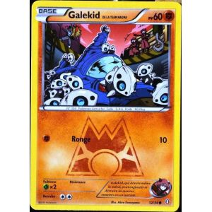 Asmodée Galekid - Carte Pokémon 12/34 Team Magma Double danger