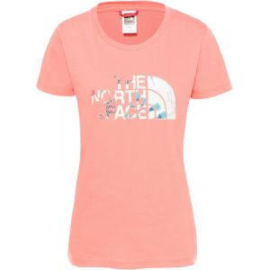 The North Face T-shirt Femme Easy - S Spiced Coral T-shirts