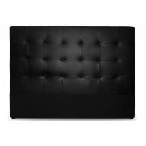 Lit simili cuir noir comparer 401 offres for Matelas epeda multispire 160x200