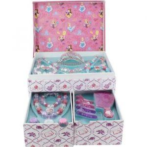 Boîte à bijoux garnie Disney Princesses 15 pièces