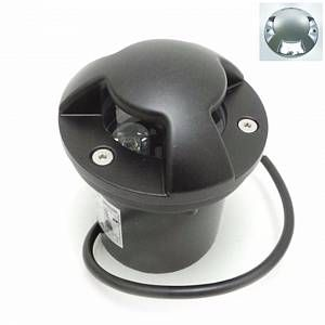 Silamp Spot Extérieur Encastrable LED IP65 220V Sol 3W Walkable 4 faisceaux - couleur eclairage : Blanc Froid 6000K - 8000K