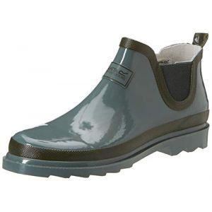 Regatta Lady Harper Welly Wellington Boot, Bottes & Bottines de Pluie Femme, Vert (Balsam/Dark Khaki 475), 38 EU