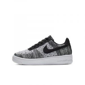 Nike Chaussure Air Force 1 Flyknit 2.0 Jeune enfant/Enfant plus âgé - Noir - Taille 34 - Unisex