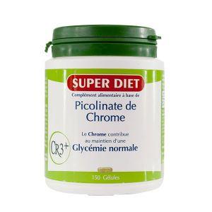 Superdiet Picolinate de Chrome 150 gélules