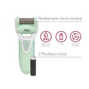 Silk'n MPW1PE1001 - Râpe électrique anti-callosités MicroPedi Wet & Dry