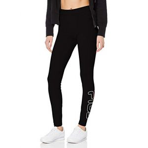 FILA Upl Flex 2.5 Leggings, Legging de sport Femme, Noir (Black 2), S (Taille fabricant: S)