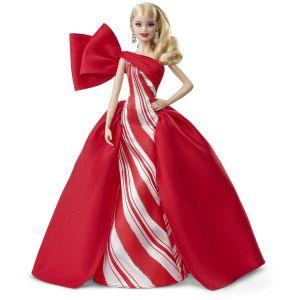 Mattel Poupée Barbie Noël 2019 Blonde