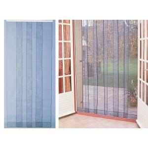 Morel Rideau de porte moustiquaire Arles 4 bandes (100 x 220 cm)