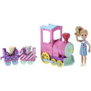 Mattel Chelsea et le train Barbie