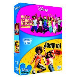 Coffret High School Musical : Premiers pas sur scène + Jump In !