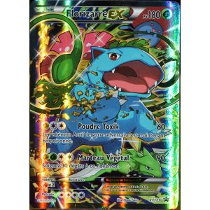 Asmodée Florizarre Ex - Carte Pokémon Xy123 180 Pv Full Art Promo