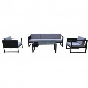 salon de jardin delorm design comparer les prix et acheter. Black Bedroom Furniture Sets. Home Design Ideas