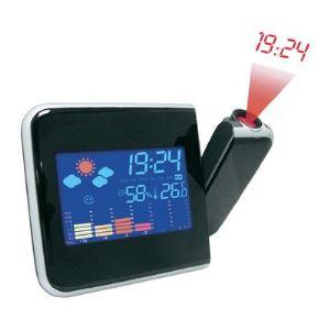 Inovalley RPM11 - Radio réveil station météo avec projection
