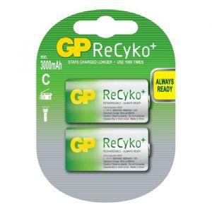 GP Batteries PILES RECHARGEABLE - GP300CHCBE-2UWC2 / R14 / C RECYKO