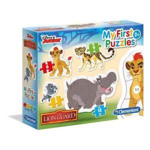 Clementoni Mon Premier puzzle La Garde Du Roi Lion (3 à 12 pièces)