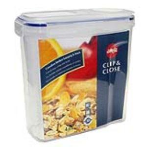 Emsa 507850 - Boîte à céréales Clip and Close en plastique (4 L)