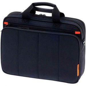 Davidt's Sac multifonctions pour ordinateur portable 15,6'' en textile noir