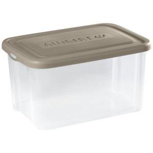 Allibert 211721 - Boîte de rangement Handy avec couvercle en polypropylène (50 L)