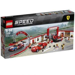 Lego Speed Champions 75889 - Le stand Ferrari