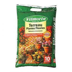 Vilmorin Terreau plantes fleuries 10 litres