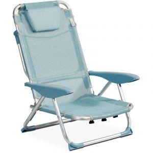 INNOV'AXE Clic clac des plages fauteuil - Opale - CLIC CLAC DES PLAGES BY
