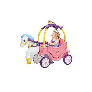 Little tikes Carrosse de princesse et son cheval 112633430c7
