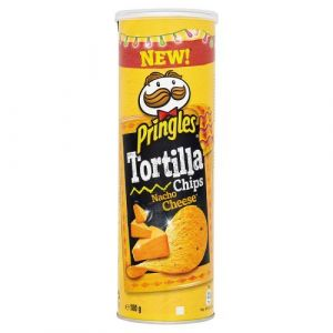 Pringles Tortilla Nacho Cheese 180 g