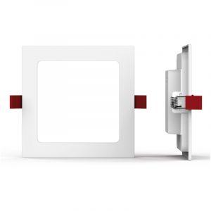 Xanlite Spot encastrable carré - 850 lumens - super slim