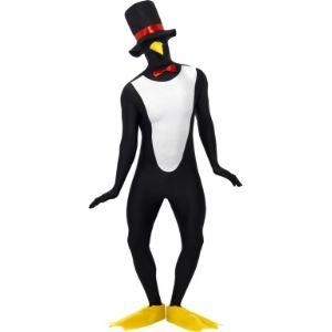 Smiffy's Déguisement de seconde peau pingouin (taille au choix)